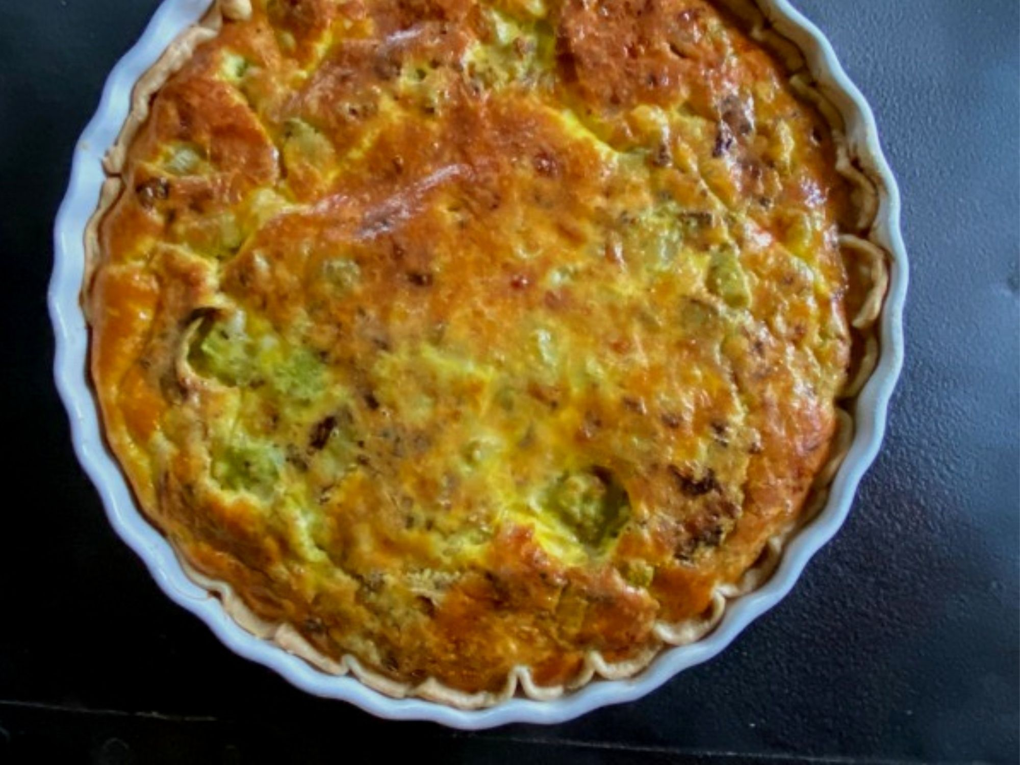 Swiss Romanesco Quiche