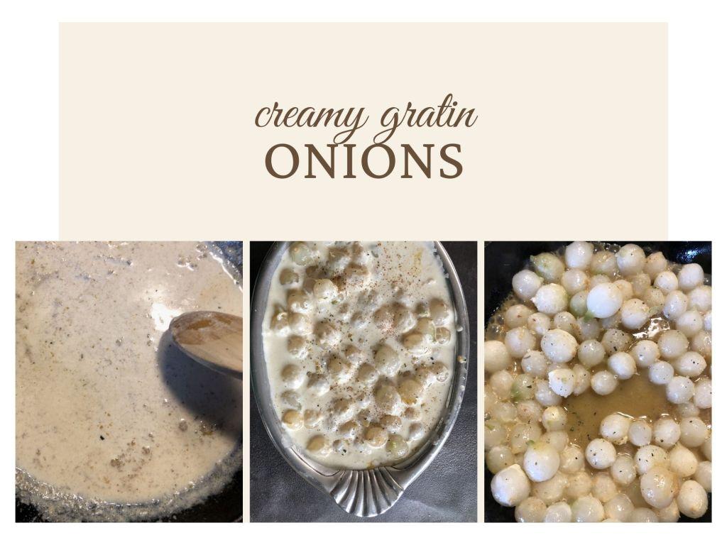 Creamy Gratin Onions